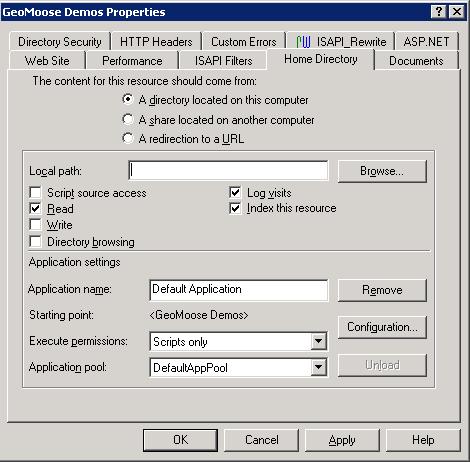 Installation MS4W — GeoMOOSE 2 9 3 documentation